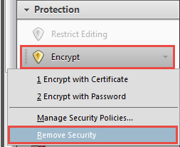 remove security