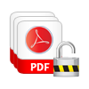 remove restrictions from pdf in batch